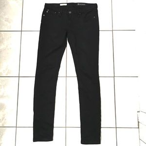 Adriano Goldschmied Womans Black Skinny Jeans